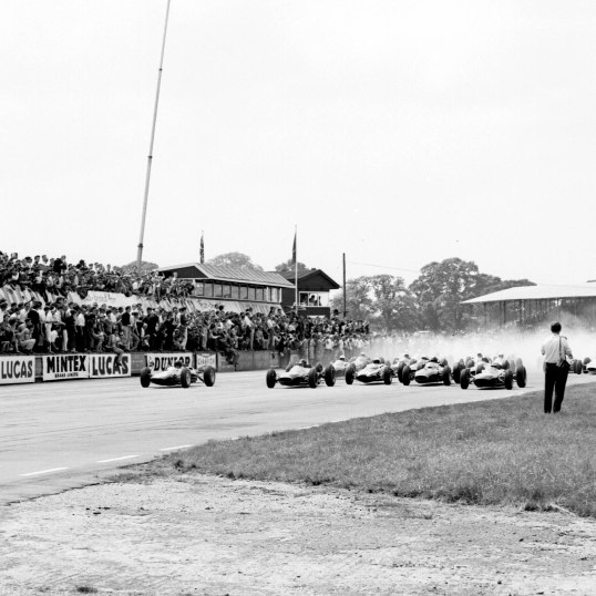 1963 British Grand Prix. Ref-20420. World © LAT Photographic