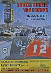 German GP 1966 poster